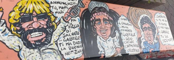 San Giorgio a Cremano, 10 panchine dedicate a Troisi e a «La Smorfia»