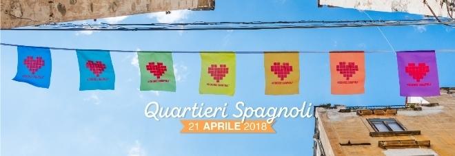 #CuoreDiNapoli 2018 ai Quartieri Spagnoli