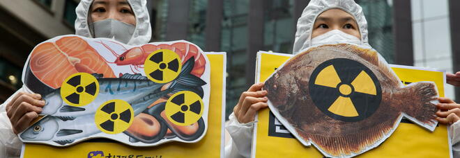 Fukushima,1,25 milioni di tonnellate di acqua contaminata saranno gettate nell'oceano