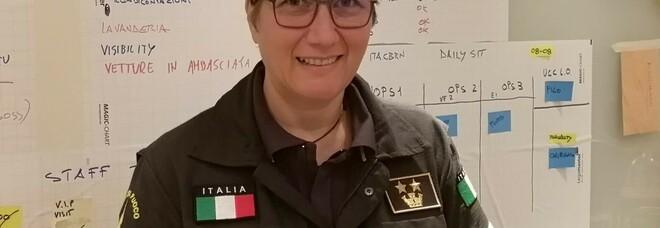 Stefania Fiore, 49 anni, ingegnere chimico dei vigili del fuoco