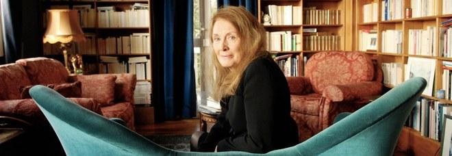 La scrittrice Annie Ernaux