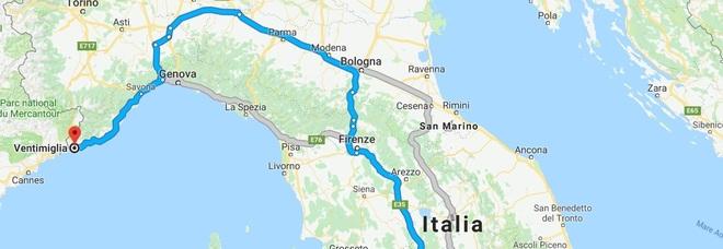 Genova isolata, ecco i percorsi stradali alternativi per raggiungere il confine e la Francia