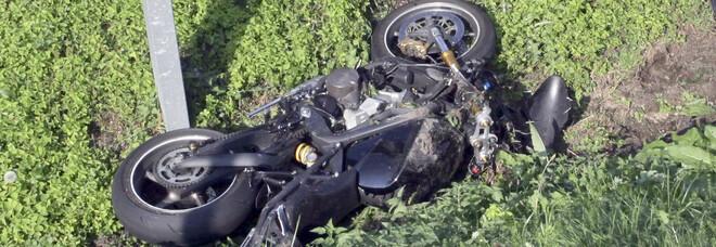 La moto Triumph (foto di archivio)