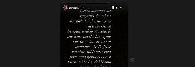 Cagliari, insulti razzisti a Duncan: la madre dell'hater si scusa. La replica: «Accetto le scuse»