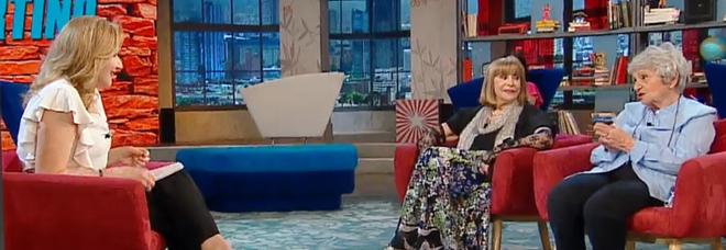 """Serena Bortone con Adriana e Miranda Martino a """"Oggi è un altro giorno"""""""
