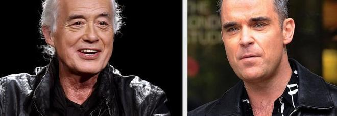 Jimmy Page, Robbie Williams