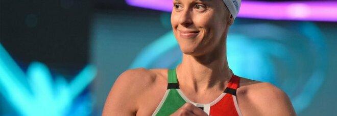 Federica Pellegrini a Verissimo sull'addio al nuoto: «Sono serena, non ho cambiato idea»