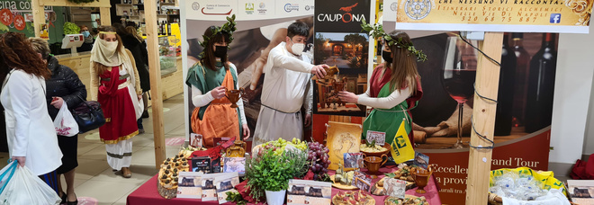 Coldiretti Napoli: al Mercato San Paolo rivivono le tabernae romane