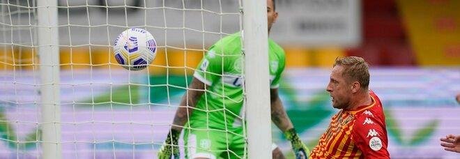 Benevento-Parma 2-2, Man rovina la Pasqua a Inzaghi