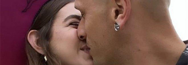 Gaia Gozzi e il fidanzato Daniele Dezi