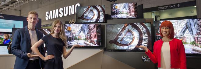 Ifa, Samsung presenta le nuove tv 8 e annuncia il Galaxy Fold (ma non in Italia)