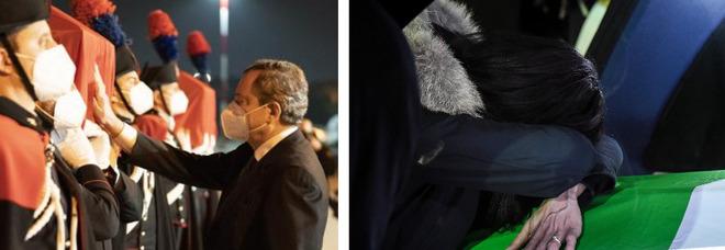 Attanasio e Iacovacci, le salme a Roma alle 23: saranno accolte da Draghi, Di Maio e Guerini. Domani le autopsie