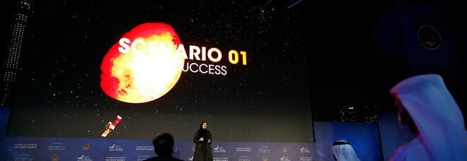 Spazio, la sonda Hope entra nell'orbita di Marte: la sala di controllo festeggia [Diretta]
