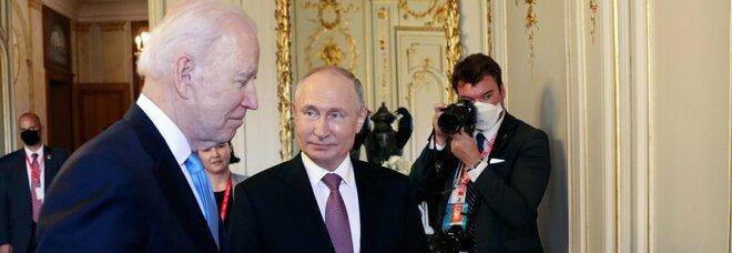 Biden e Putin, l'incontro a Ginevra sta per cominciare