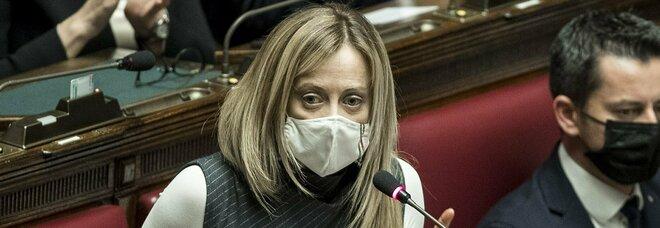 Giorgia Meloni cita Brecht: «No a Draghi per coerenza, non vogliamo un'Italia di serie B»