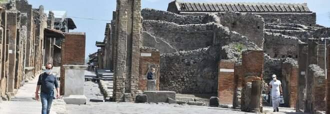 Gli Scavi di Pompei riaprono al pubblico: 300 visitatori prenotati nel primo giorno