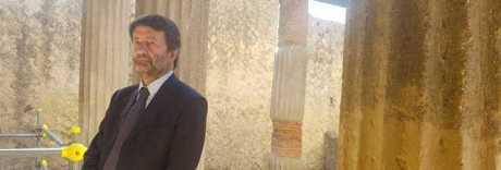 Franceschini negli scavi di Ercolano «In arrivo altri fondi»