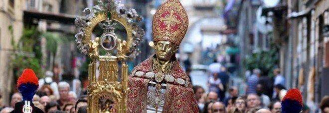 San Gennaro, la processione di maggio annullata per Covid: è già la seconda volta