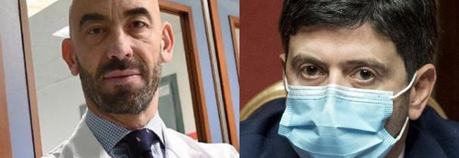 Covid, Bassetti: «Scandaloso che il ministro della Salute Speranza non sia vaccinato, doveva fare Astrazeneca»
