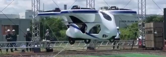 Giappone, ecco le macchine volanti per evitare il traffico urbano