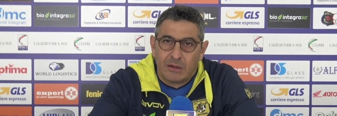 Juve Stabia e il derby con la Turris, Padalino: «Determinazione e carattere»