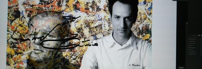 Jackson Pollock ed il suo rapporto con il cibo nella rivisitazione dello chef Montefusco