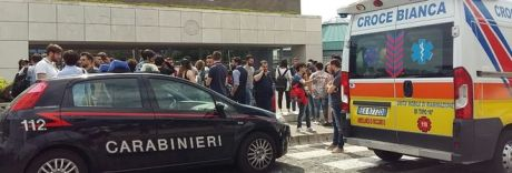 Choc all'Università di Salerno:
