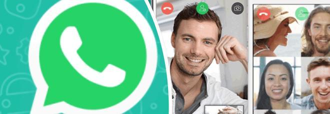 WhatsApp, le videochiamate di gruppo solo per pochi fortunati: ecco come scoprire se sono disponibili