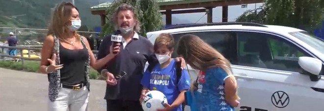 Il Mattino da Dimaro live: Claudia Mercurio tra i tifosi azzurri