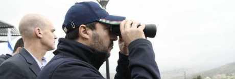 Salvini in Israele, gelo della Difesa: «Così ci mette in difficoltà»