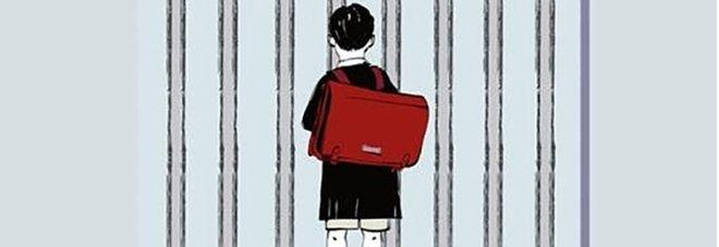 Copertina del libro il bambino che non poteva andare a scuola di Ugo Foà