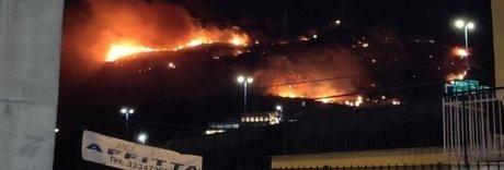 Incendia due ettari di terreno coi fuochi d'artificio: denunciata