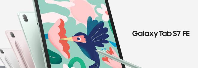 Samsung arriva sul mercato con due nuovi Tablet: il Galaxy Tab S7 FE e Galaxy Tab A7 Lite