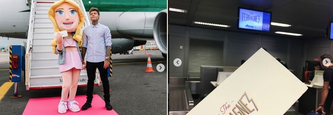 Ferragnez, bufera sul volo Alitalia brandizzato: Di Maio chiede spiegazioni alla compagnia aerea
