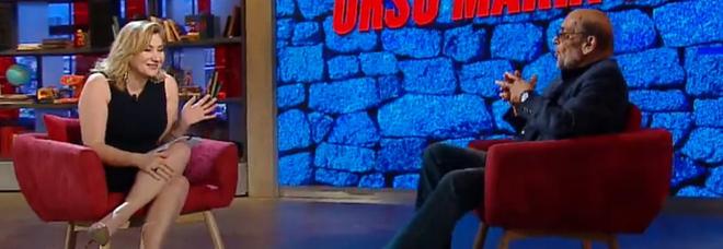 """Serena Bortone e Orso Maria Guerrini a """"Oggi è un altro giorno"""""""