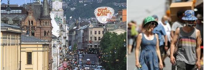 Norvegia, da domani si torna alla normalità: via tutte le restrizioni (incluso il distanziamento)