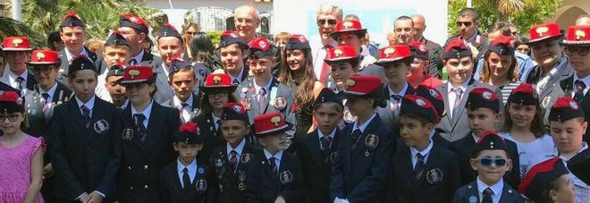 Gli orfani dei militari dell\'Arma caduti in servizio in vacanza a ...