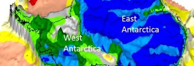 Scoperto un continente perduto sotto i ghiacci dell'Antartide