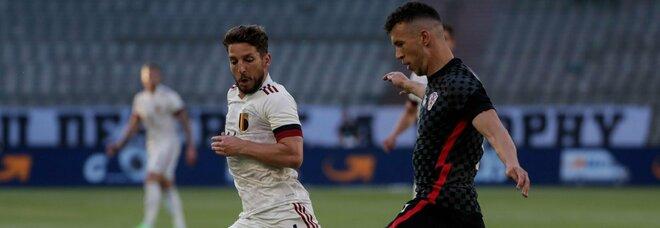 Mertens è pronto all'esordio: la stella del Belgio contro la Russia