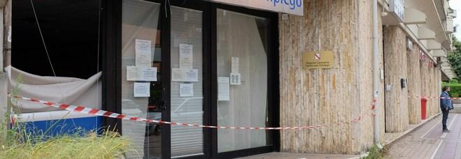 Avellino, bomba al centro per l'impiego: esclusa la finalità terroristica