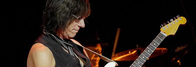 Il chitarrista rock Jeff Beck