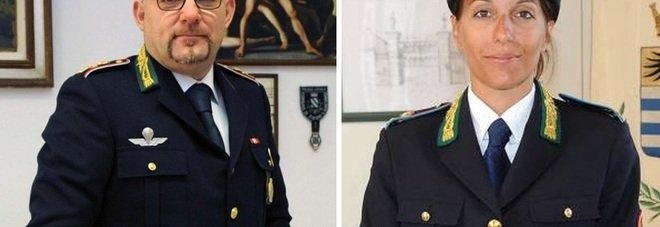 Salvatore Furci e Lia Vismara