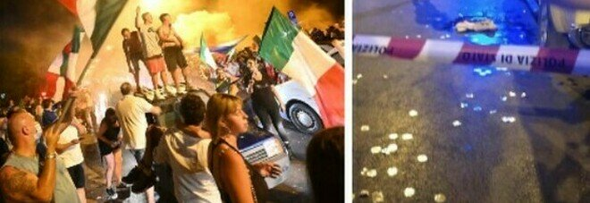 Italia campione, a Milano una notte di follia in strada: 15 feriti, di cui 3 gravi