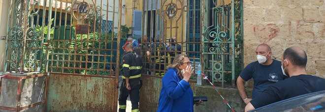 Incendio a Napoli in casa a San Martino: un'anziana morta carbonizzata