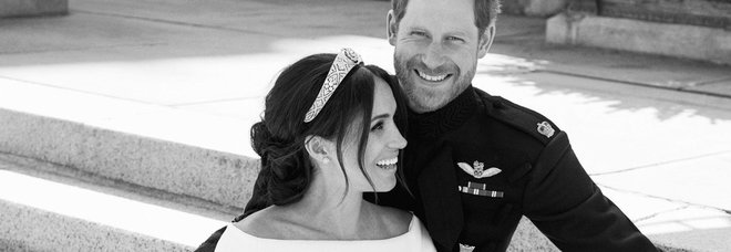Harry e Meghan, ecco le prime foto ufficiali del royal wedding