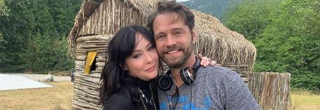 Beverly Hills 90210, Brenda e Brandon sono tornati: la foto che fa sognare i fan