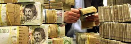 Convertire miliardi di lire in euro, ecco lo stratagemma dei Casalesi