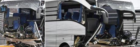 Flixbus da Genova si schianta contro muro in Svizzera: un morto