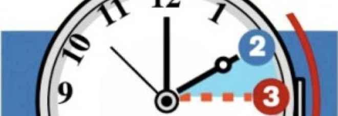 Ora legale, ecco quando si cambia: il 31 marzo alle 2 di notte lancette avanti di un'ora