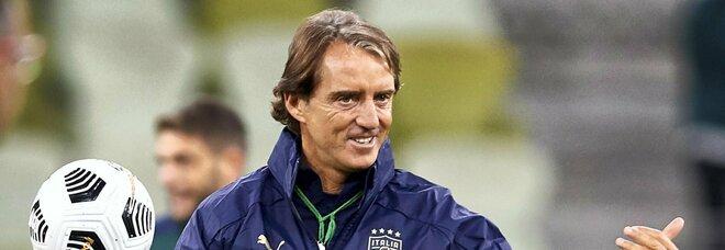 Italia-San Marino, Mancini annuncia i titolari azzurri: «Questi giorni di lavoro sono stati importanti»